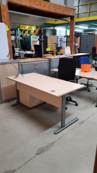 Bureau Plan droit EOL    DIM : 160 x 80 cm