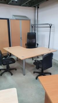 Bureau plan symétrique  CLEN   160 x 160 cm