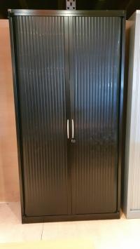 ARMOIRE Haute STEELCASE Noir DIM : 100 cm