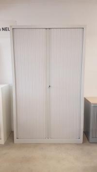 ARMOIRE Haute VINCO Gris Clair  DIM : 120 cm