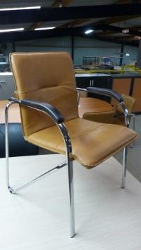 """Série de 12 fauteuils """" fauve """""""