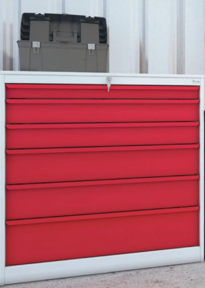 mobilier dpu tat mobilier de bureau neuf mobilier d 39 atelier armoire basse 6 tiroirs pas cher. Black Bedroom Furniture Sets. Home Design Ideas